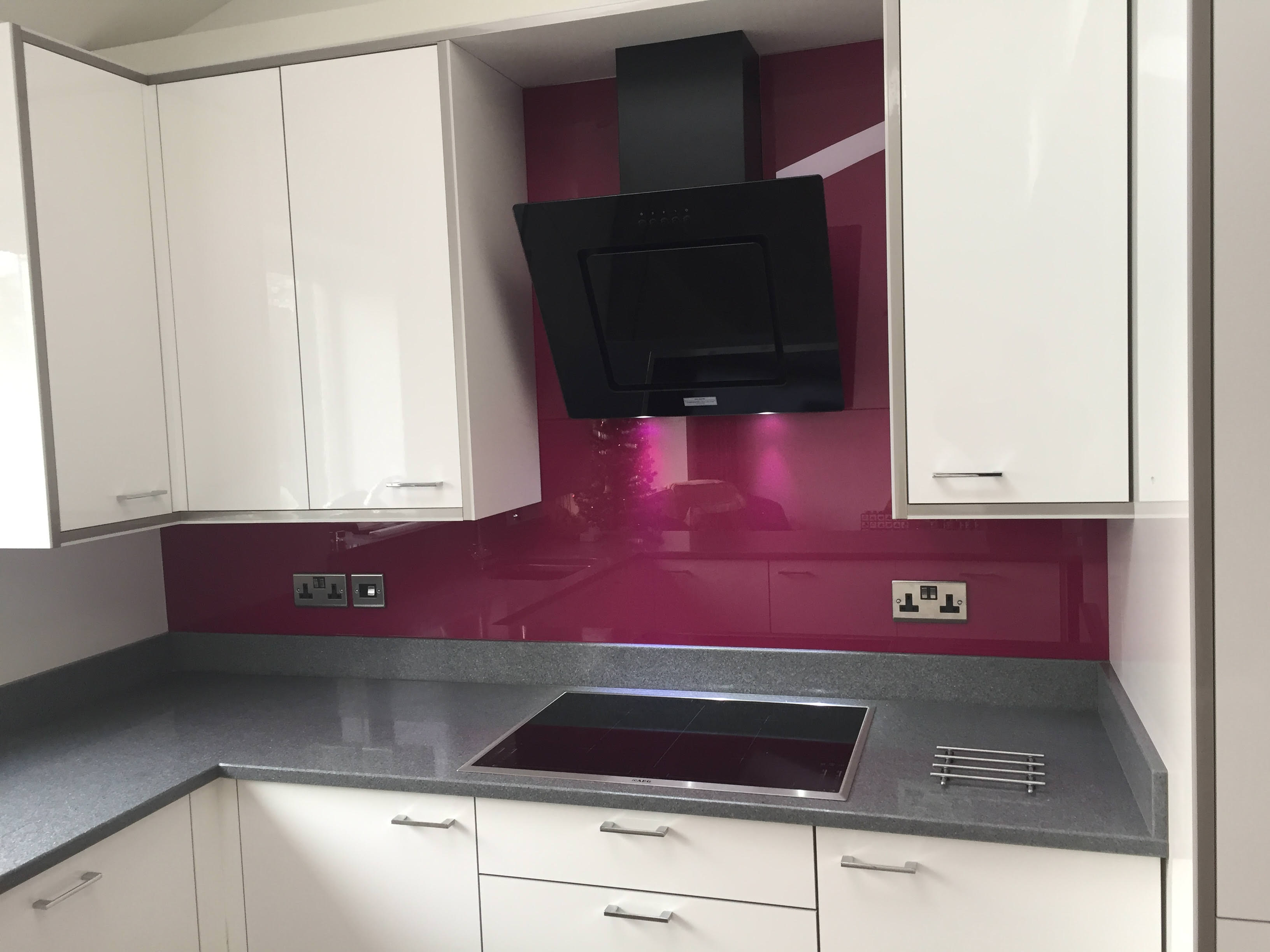 Bespoke glass splashbacks southampton hampshire - Splashback alternatives ...